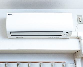 エアコンの写真