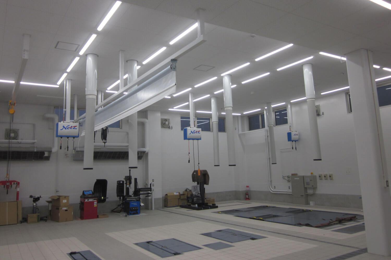 ネッツトヨタ信州 飯田店(機械設備工事)